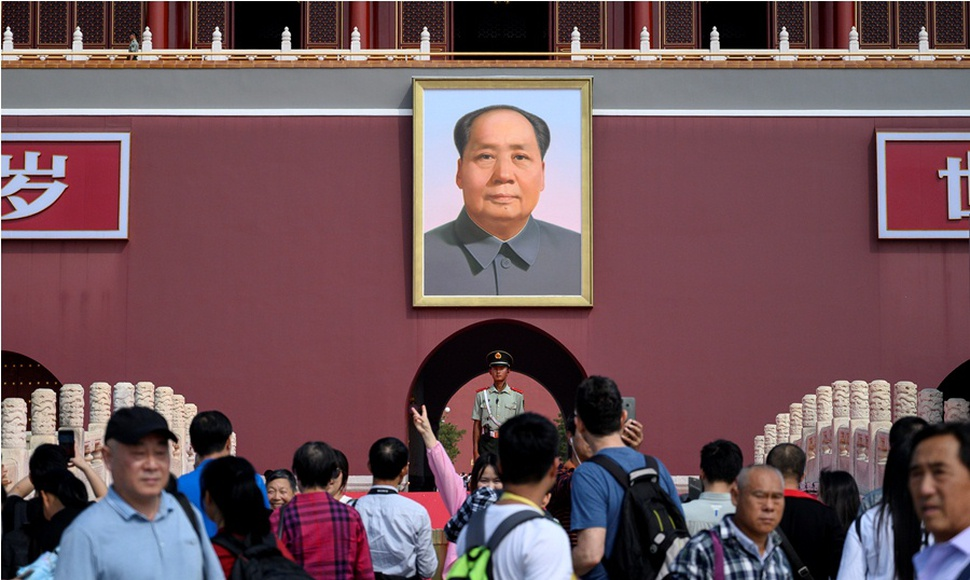 Mao Zedong, fundador de la República Popular China