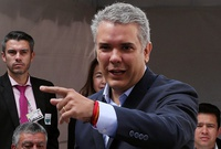 Iván Duque: Nicolás Maduro es un eslabón del terrorismo internacional