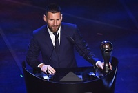 Lionel Messi gana premio The Best de la FIFA
