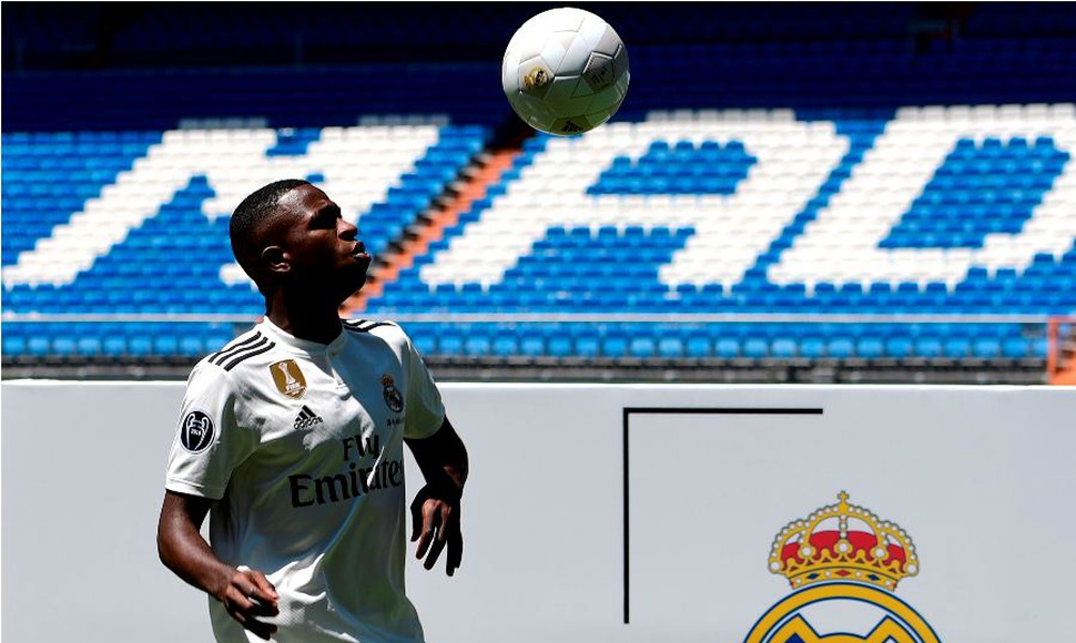 Vinicius Junior, delantero del Real Madrid
