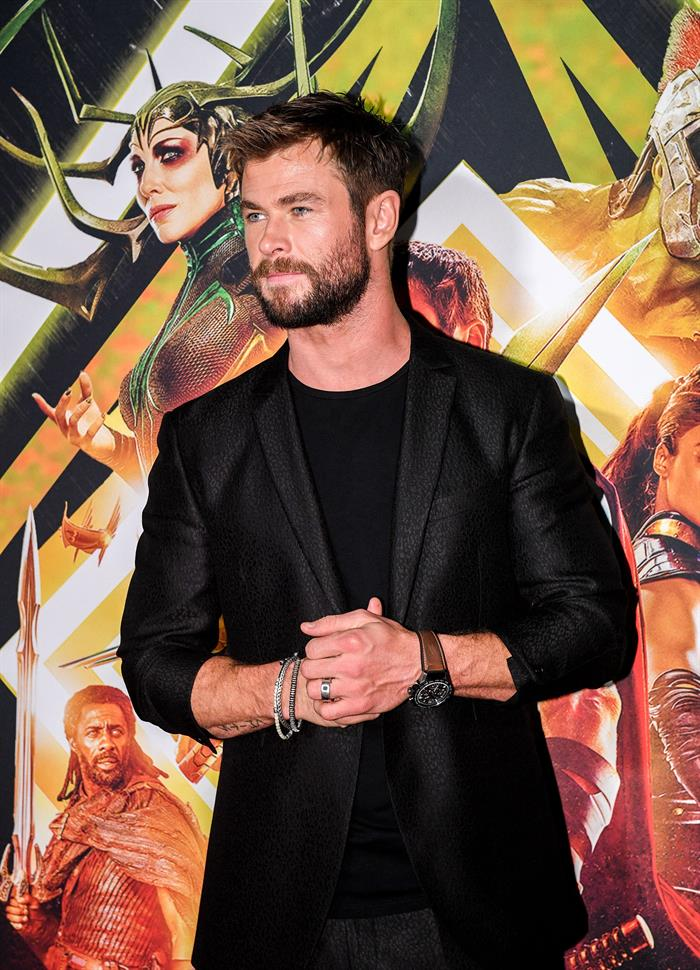 El actor Chris Hemsworth, quien personifica a Thor. EFE/END