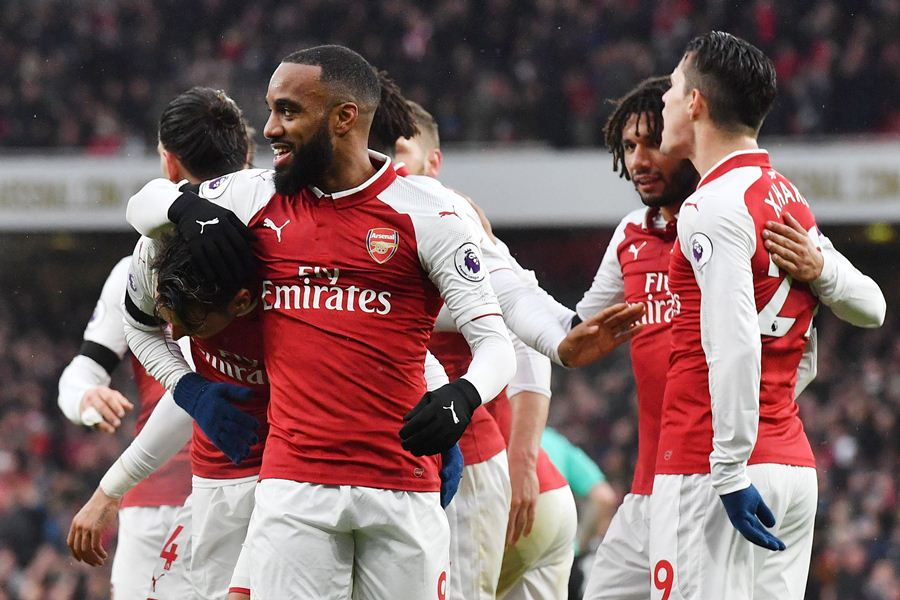 El Arsenal goleó 4-1 al Crystal Palace. Foto: AFP/END