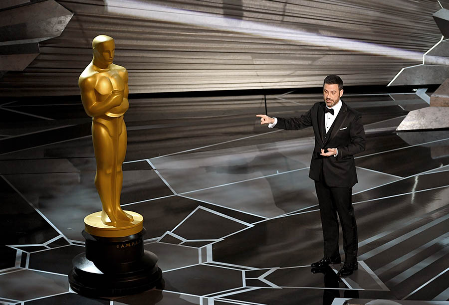 El comediante Jimmy Kimmel. AFP/END