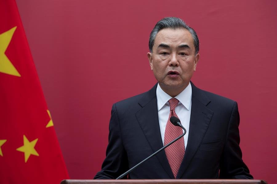 Wang Yi, canciller chino.EFE/END.