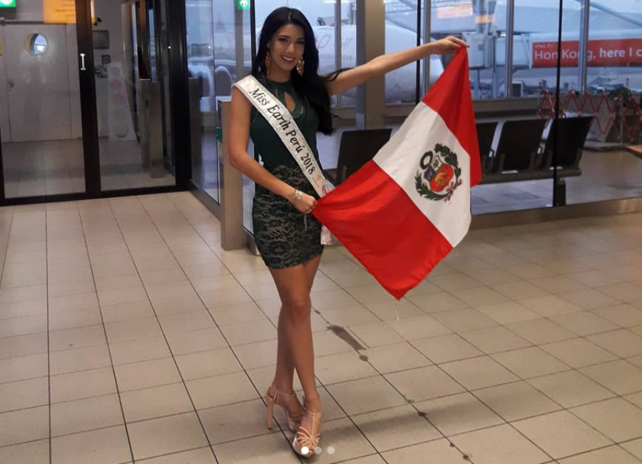 Jessica Russo, Miss Earth Perú 2018./Instagram