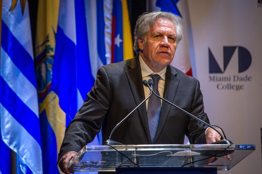 Luis Almagro, secretario general de la OEA. EFE/END
