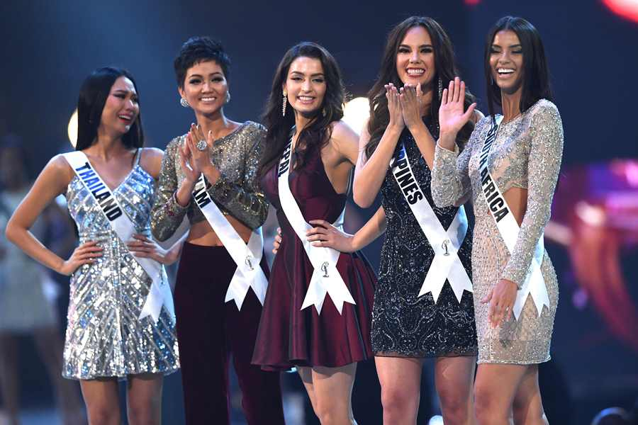 Candidatas a Miss Universo / AFP