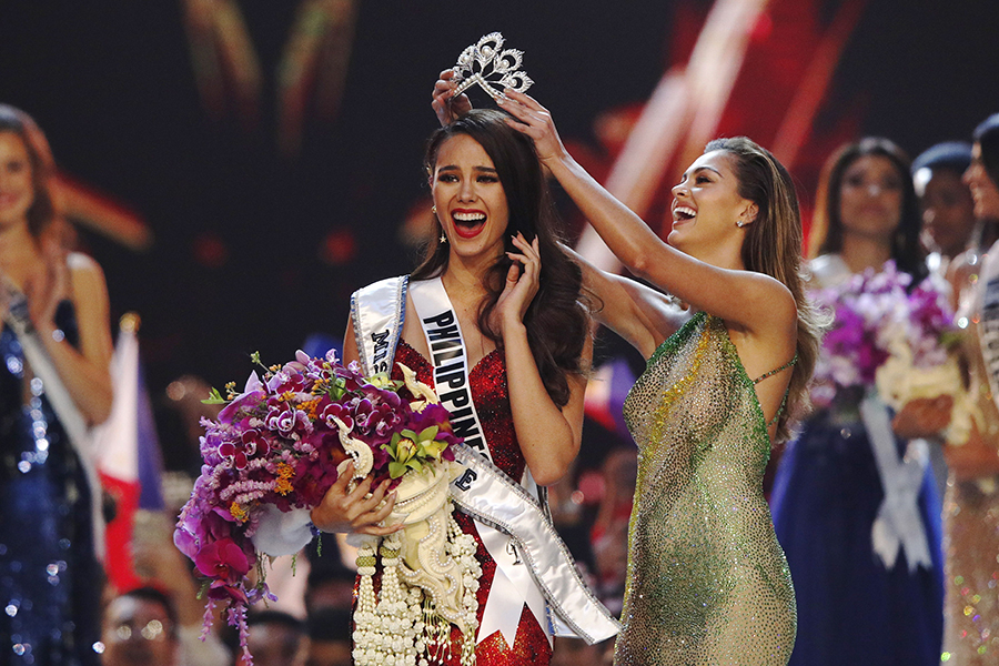 Catriona Gray. EFE/END