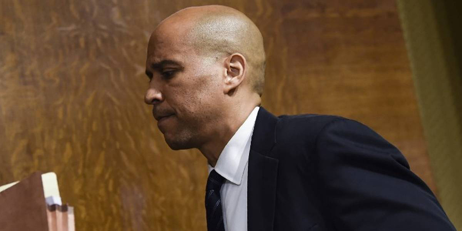 Cory Booker.  Archivo/END