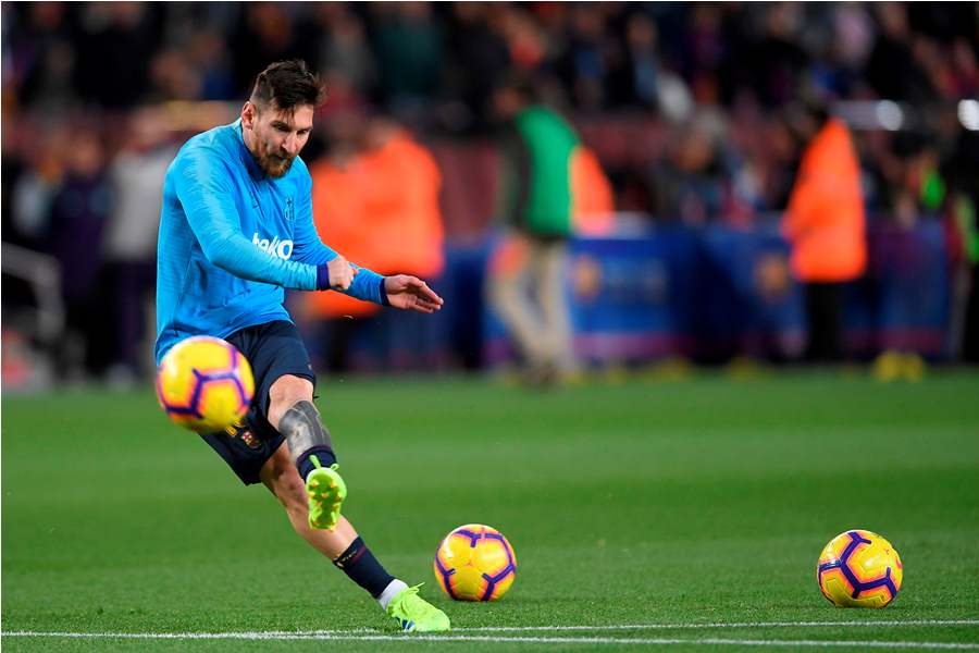 Según Catalunya Radio, Messi sufría una simple contractura en el abductor del muslo. Foto: AFP/END
