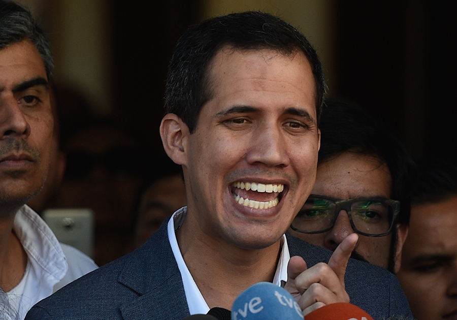 Juan Guaidó, líder opositor. Archivo/END