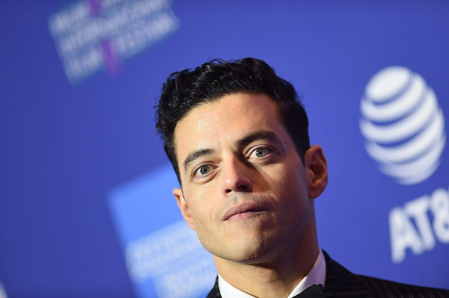 Rami Malek, actor estadounidense. AFP/END