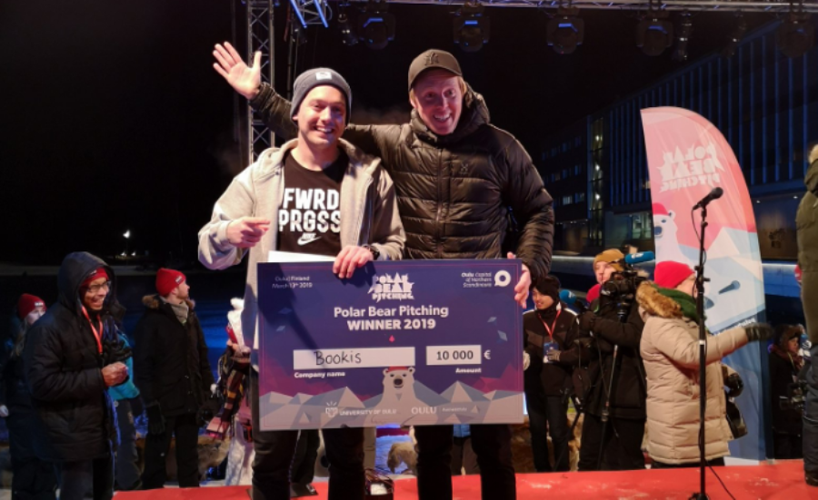 Los ganadores del Polar Bear Pitching 2019.