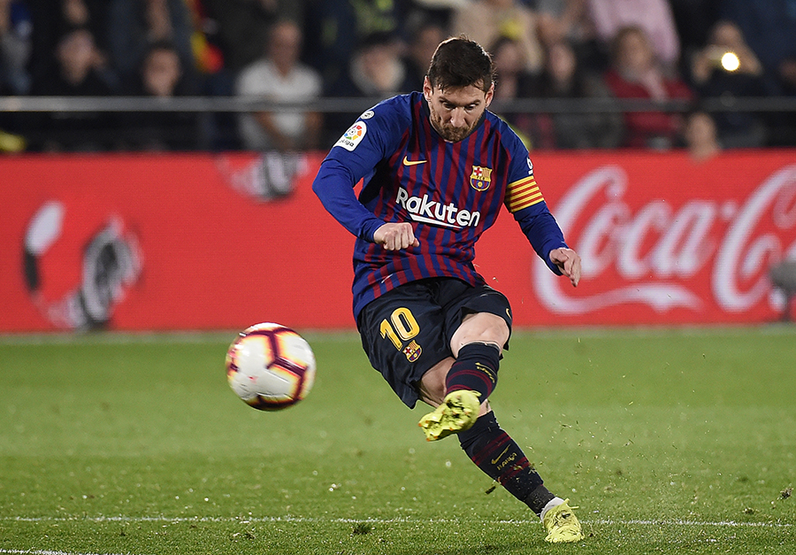 Leo Messi. AFP/END