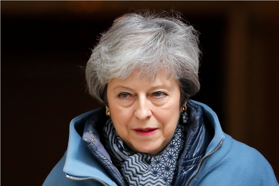Theresa May, primera ministra del Reino Unido. Foto: AFP/END