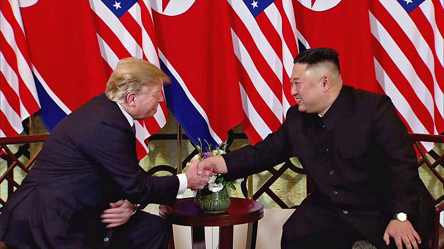 Kim Jong Un ya se ha reunido con Donald Trump. Archivo/END