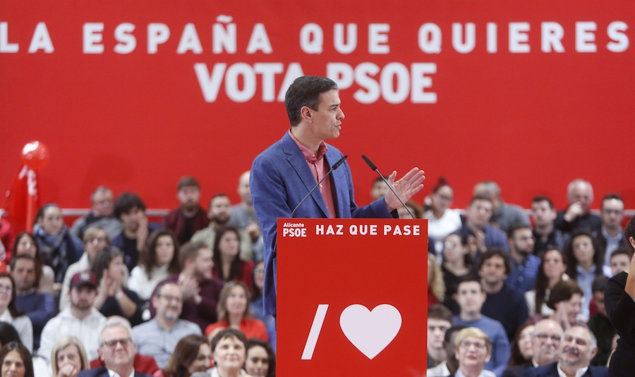Pedro Sánchez, actual presidente de España. AFP/END