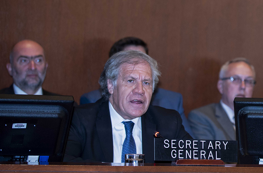 Luis Almagro, secretario general de la OEA. Archivo/END