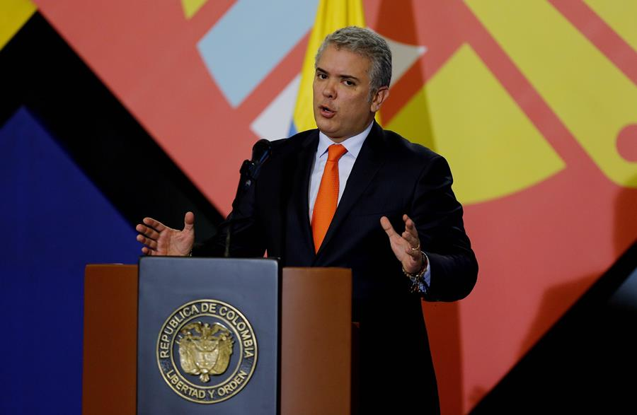 Iván Duque, presidente de Colombia. EFE/END
