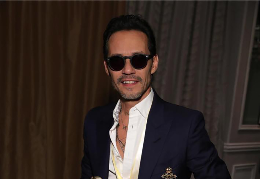 Marc Anthony, cantante Tomada de Facebook/END