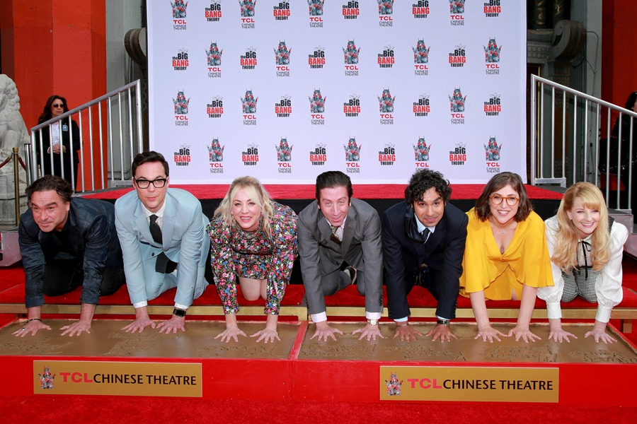 "El elenco de ""The Big Bang Theory"" . AFP/END."