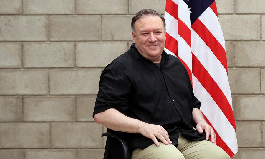 Mike Pompeo, secretario de Estado de Estados Unidos. EFE/END
