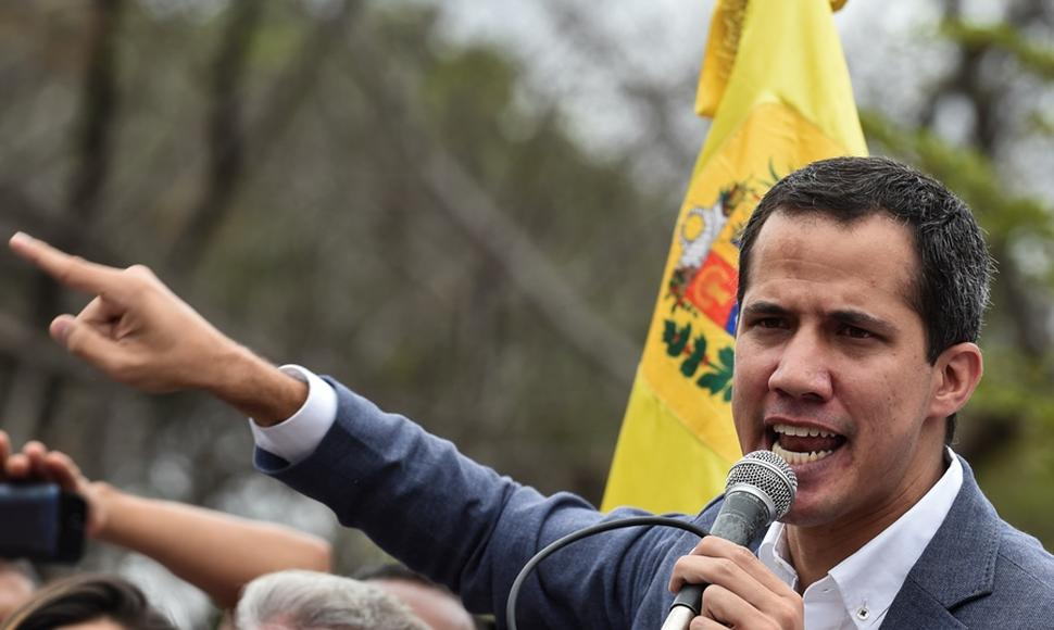 Juan Guaidó. AFP/END-