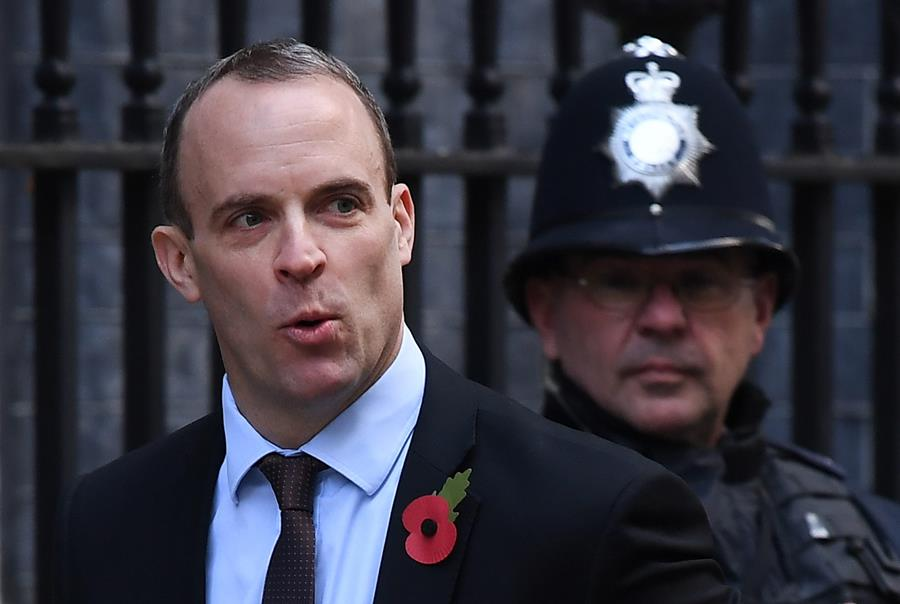 Dominic Raab, candidato a reemplazar a Theresa May. EFE/END