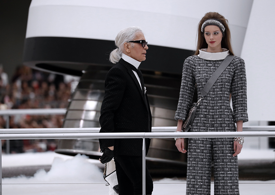 Karl Lagerfeld. AFP/END