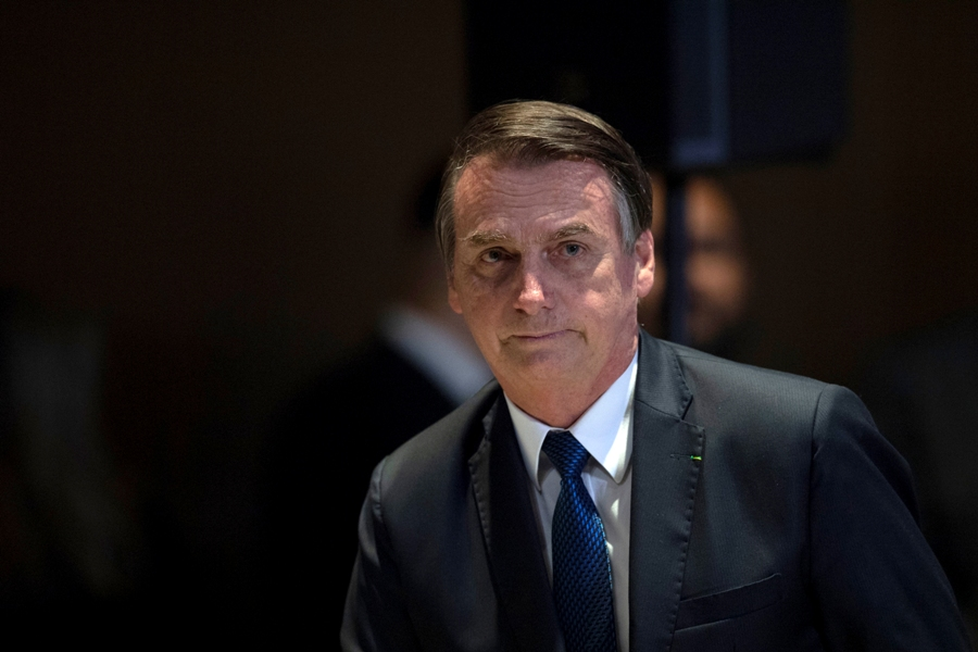 Jair Bolsonaro. Archivo/AFP/END