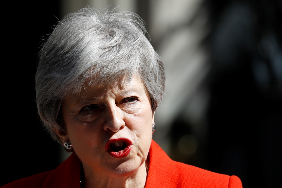 Theresa May, primera ministra británica. EFE/END