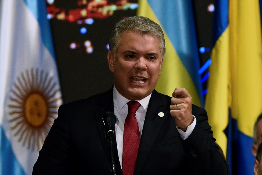 Iván Duque, presidente de Colombia. AFP/END