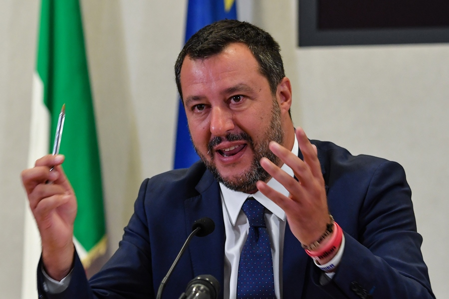 Matteo Salvini. AFP/END.