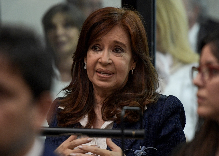 Cristina Kirchner. AFP/END