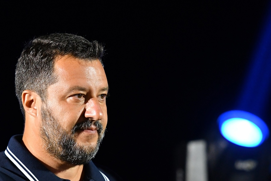 Matteo Salvini, ministro italiano de Interior. AFP/END