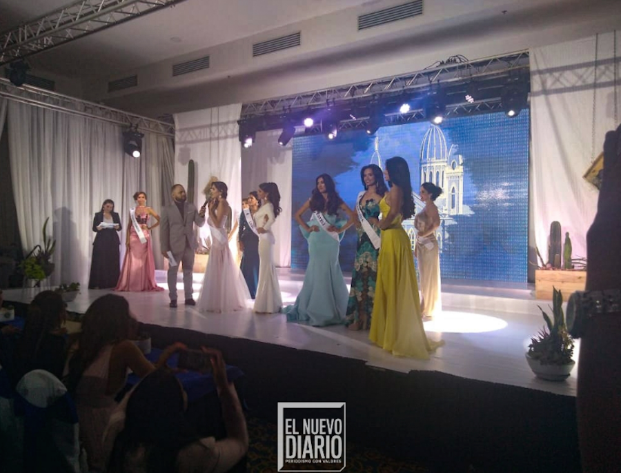 Candidatas a Miss Nicaragua 2019. Eva Inestroza/END