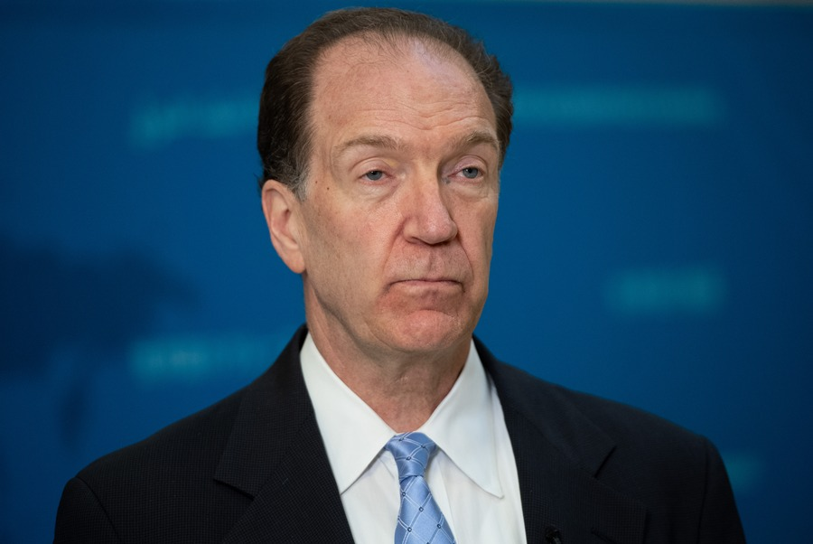 David Malpass, presidente del Banco Mundial. AFP/END.