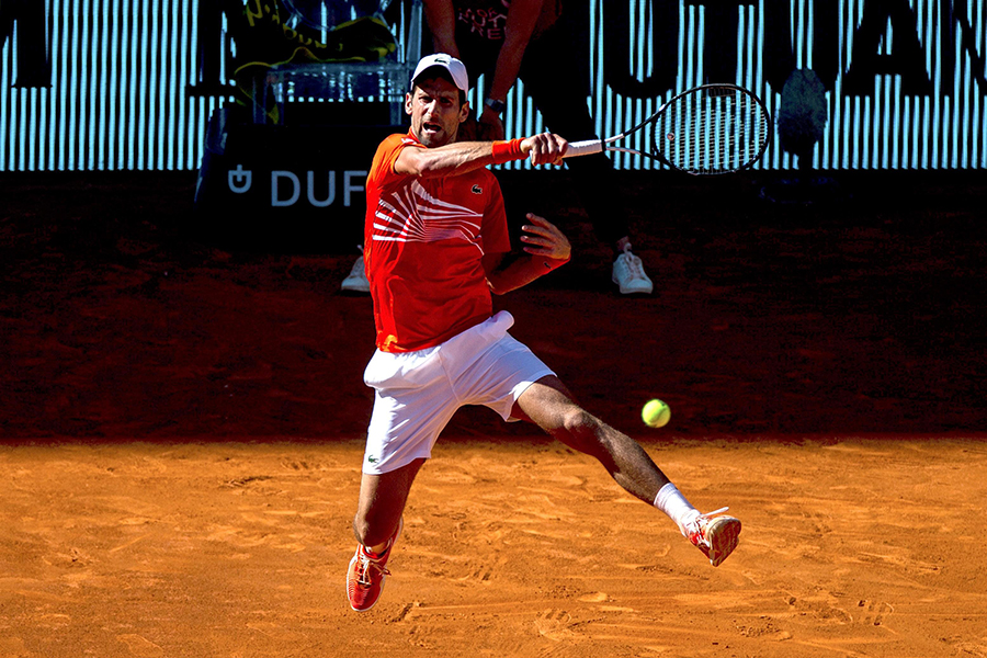 Novak Djokovic . Archivo/END