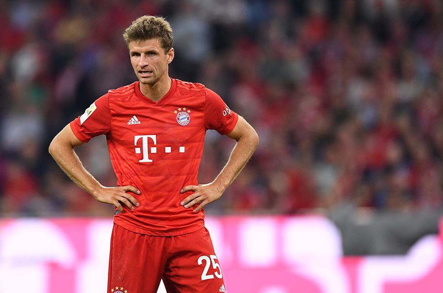Thomas Mueller. AFP/END