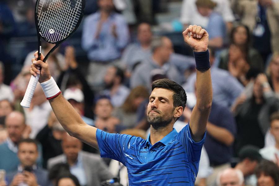 Novak Djokovic, tenista. AFP/END