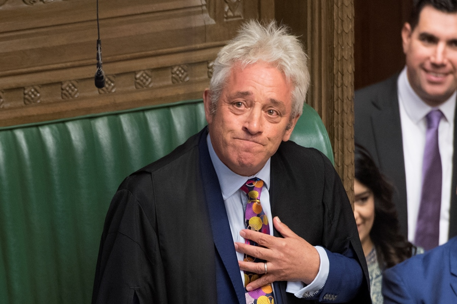 John Bercow. AFP/END