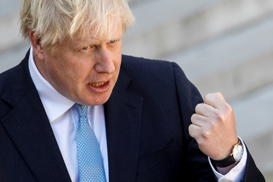 Boris Johnson, primer ministro británico. AFP/END