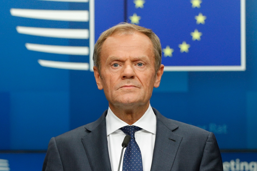 Donald Tusk, jefe del Consejo Europeo. AFP/END