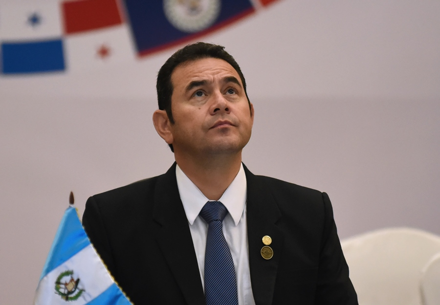 Jimmy Morales, presidente de Guatemala. AFP/END