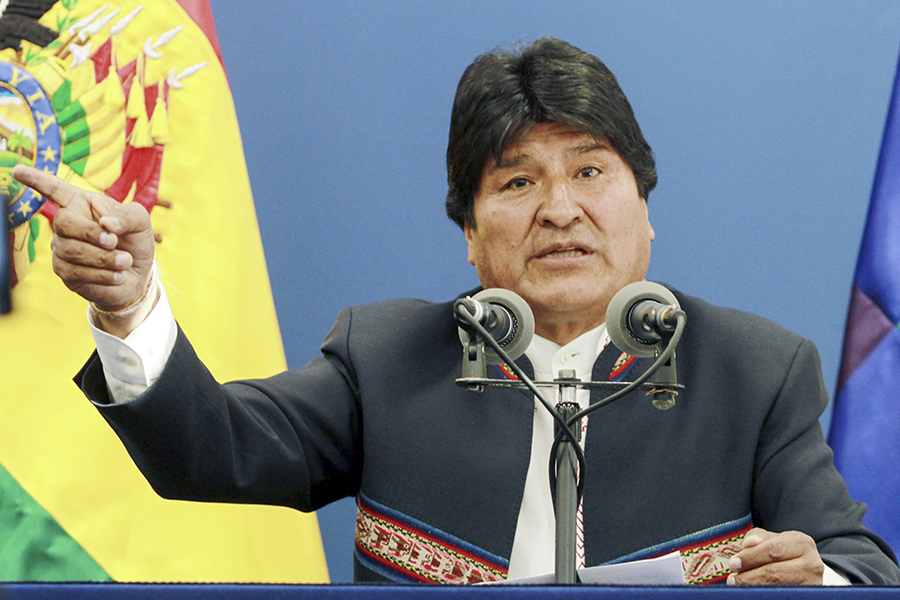 Evo Morales.Archivo/END