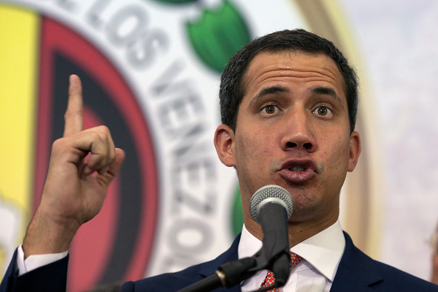 Juan Guaidó. Archivo/END