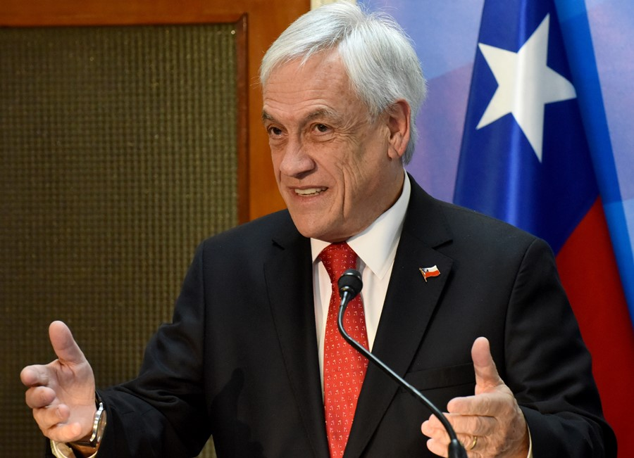 Sebastián Piñera, presidente de Chile. AFP/END
