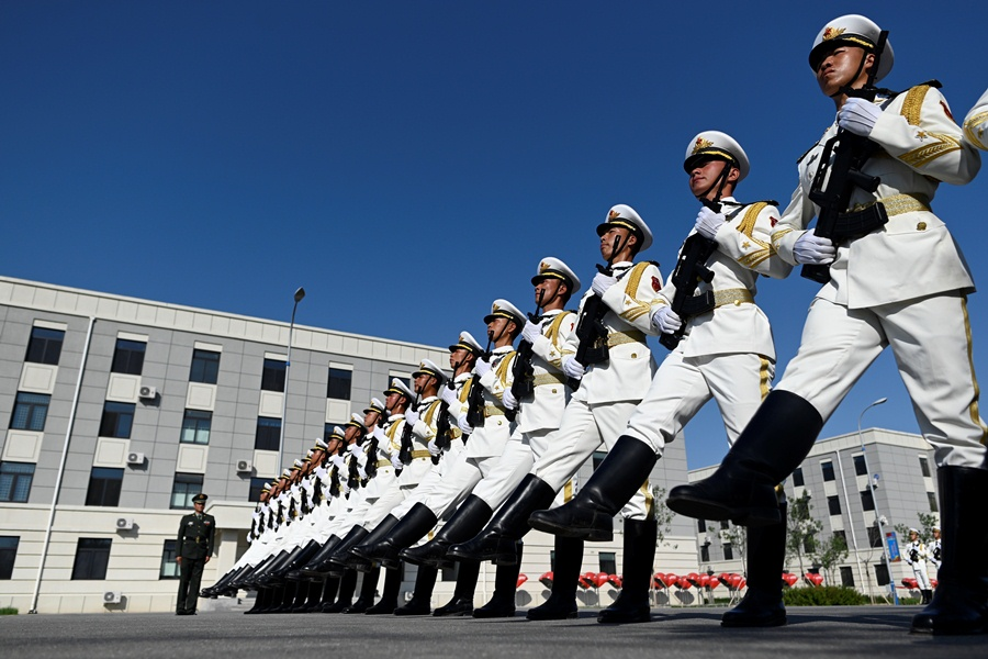 Un desfile de militares en China. AFP/END