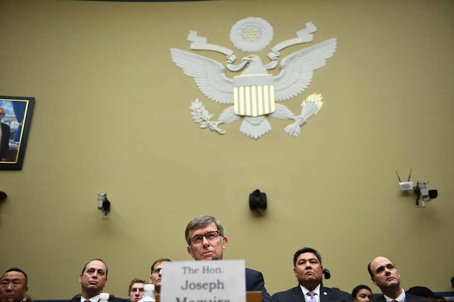 Joseph Maguire, director de inteligencia de Estados Unido. AFP/END