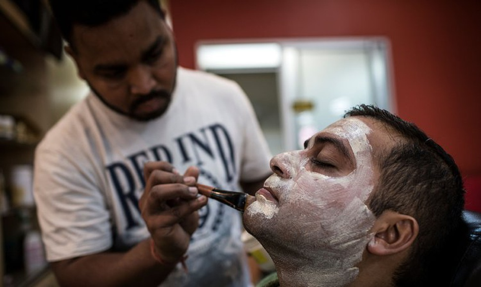 Residents of black countries spend billions on skin lightening products, but many have harmful chemicals.  (Gulshan Khan/Agence France-Presse — Gett
